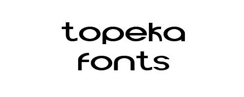 Topeka Free Font