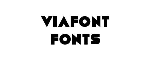 Viafont Free Font