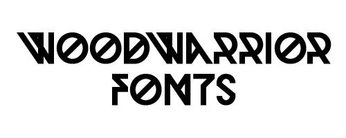 Woodwarrior Free Font