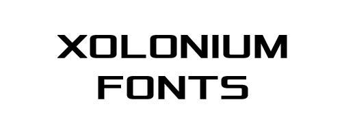 Xolonium Free Font