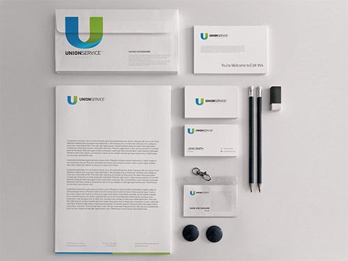 Unionservice letterhead