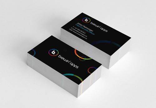 Brewin' apps Business card