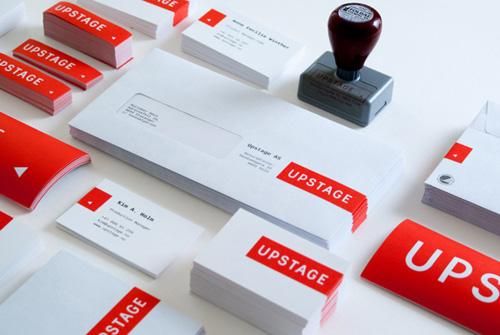 Upstage identity letterhead