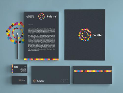 Palette / Visual Identity letterhead