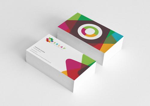88.9 Overlap FM Business card