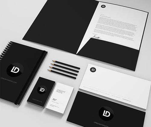 Limelight Digital letterhead
