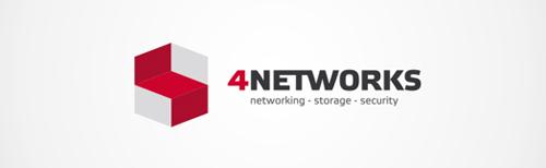 4NETWORKS Identity Logo Design