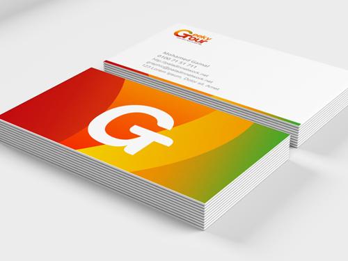 Geeky Tour Business card