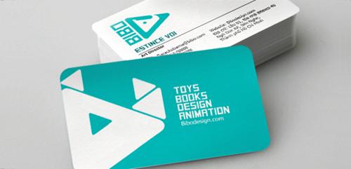 Bibo identity Business card