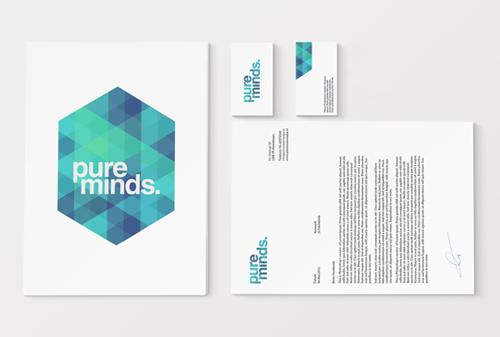Pure Minds letterhead