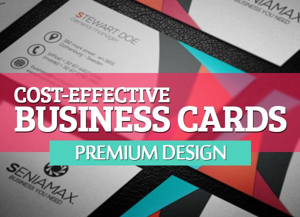 Premium business cards design