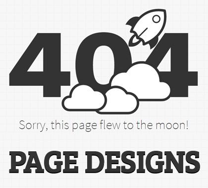 Creative 404 Page Designs