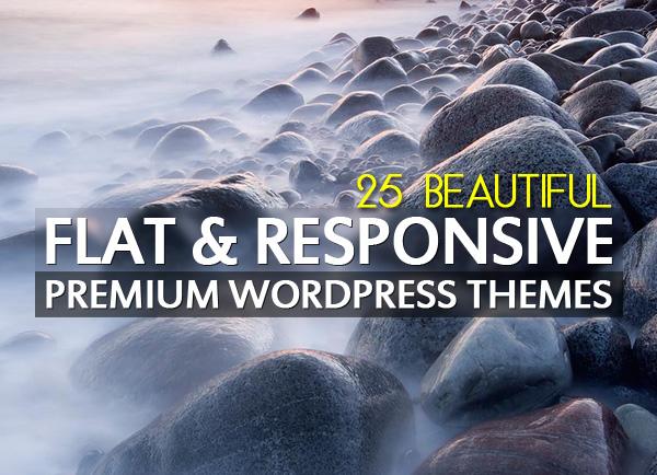 Flat, Responsive Premium WordPress Themes