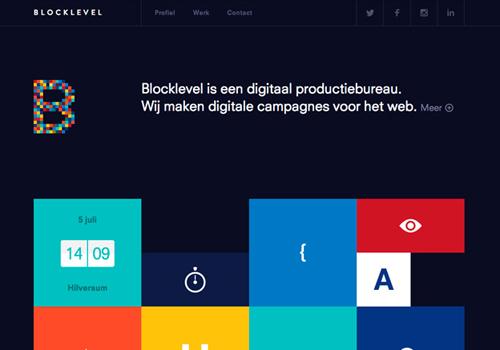 Flat web design-28