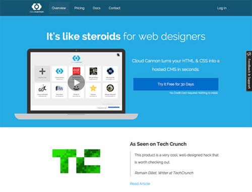 Flat web design-37