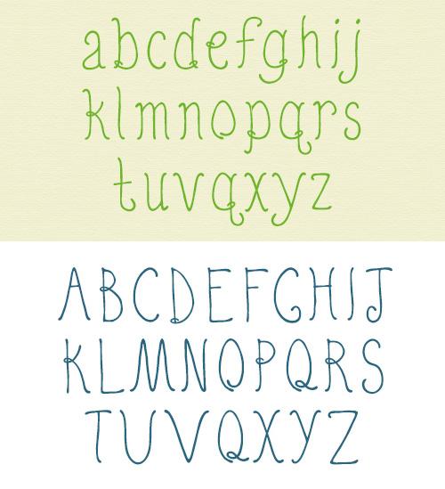Quirky Nots free fonts