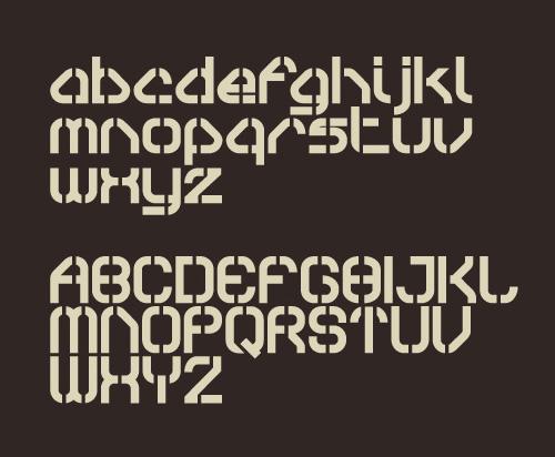 Sylar Stencil free fonts