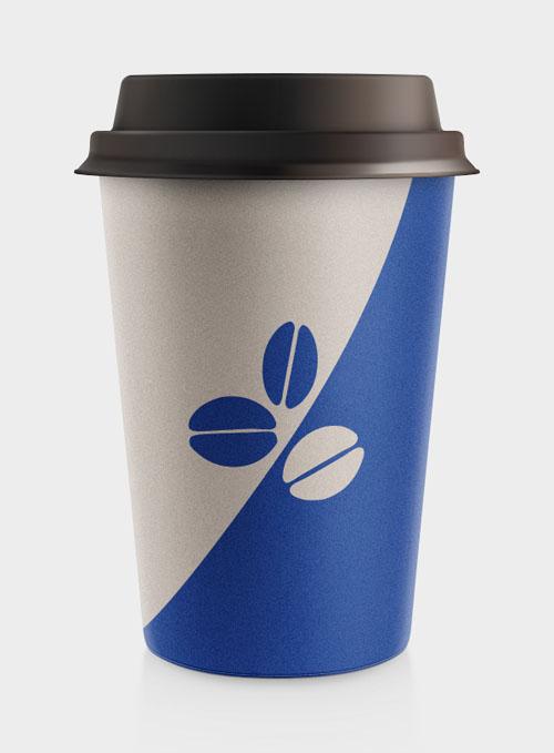 Coffee Cup Free PSD File