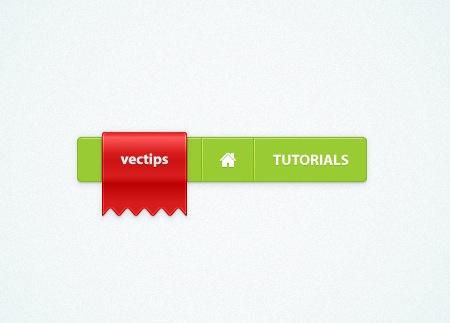 Create a Simple Menu Bar and a Sleek Web Ribbon