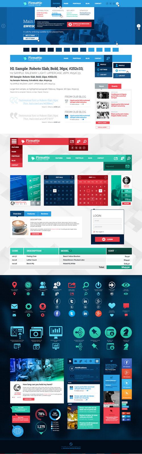 Firmattic - Corporate UI-Bundle