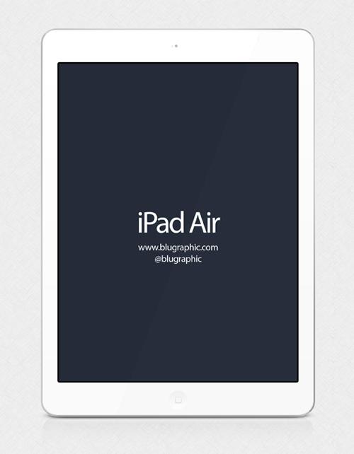 Ipad Air Mockup Free PSD File