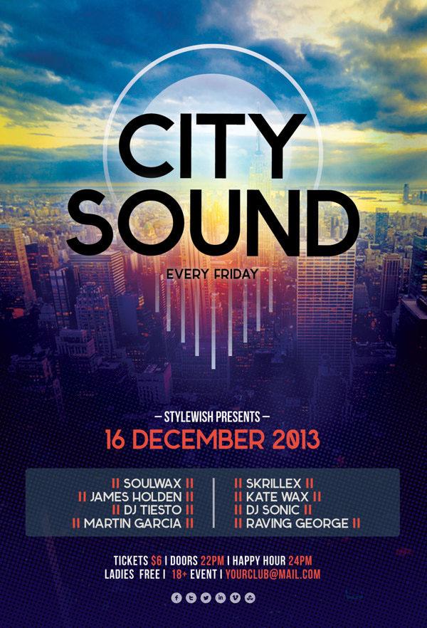 City Sound Flyer