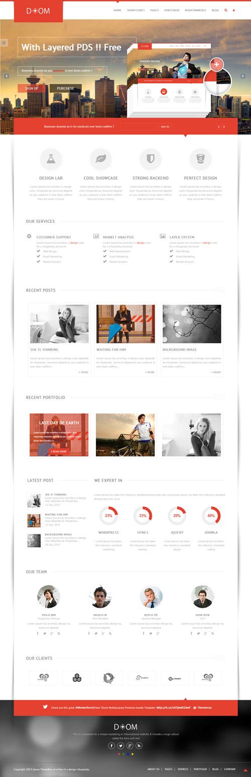 Doom - Multipurpose Premium WordPress Theme