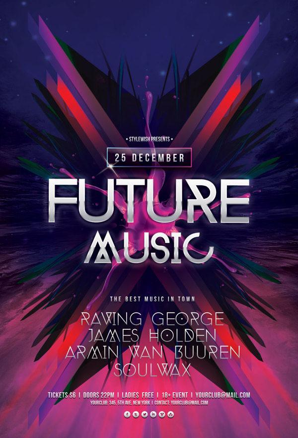Future Music Flyer