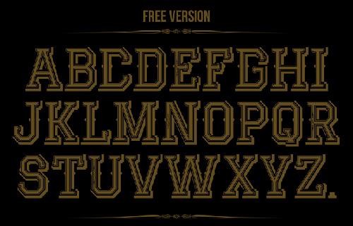 Jack Runner Font Typography