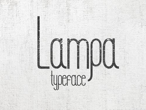 LAMPA Free Font
