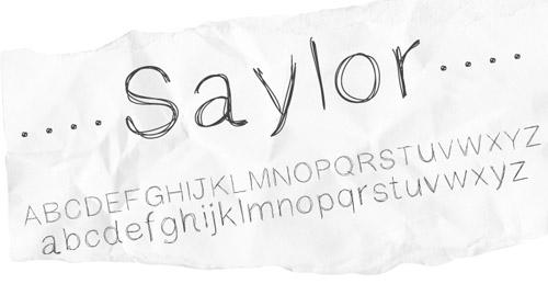 Saylor Free Font