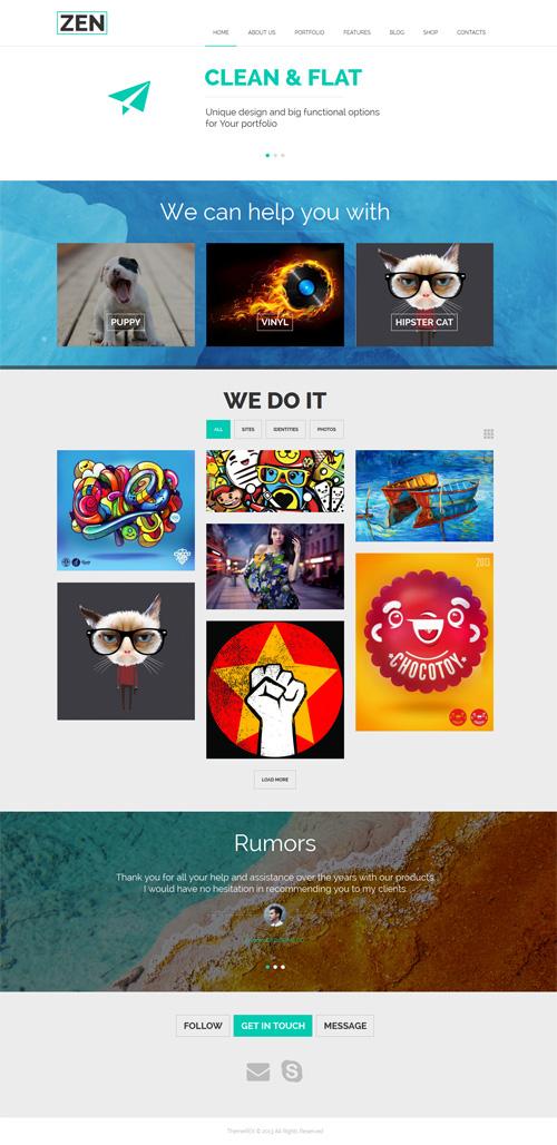 ZEN - Creative Multipurpose WordPress Theme