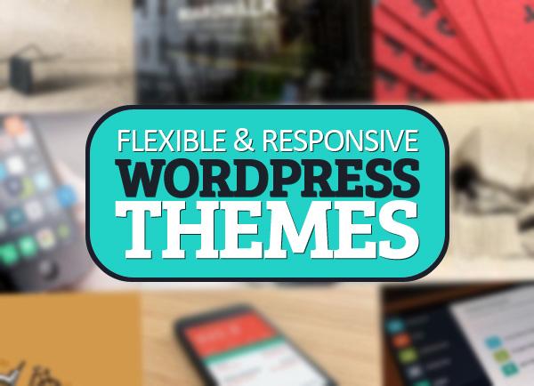 Responsive modern WordPress themes