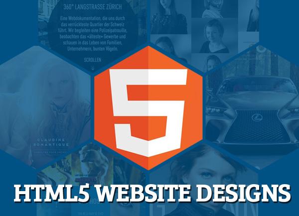 Html5 Website Designs