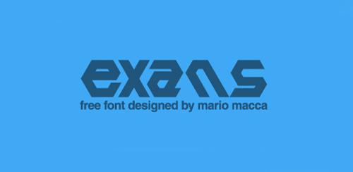Exans Font