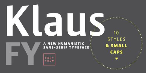 Klaus FY Font