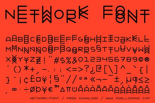 Network font