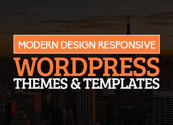 Modern Design WordPress Themes and Templates