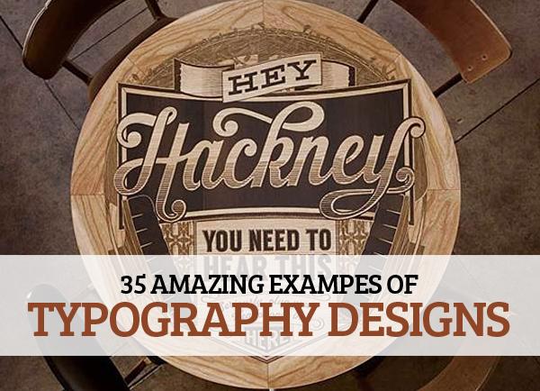 Amazing Typography Design for Inspiration