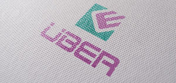 Uber Fashion Label Logo