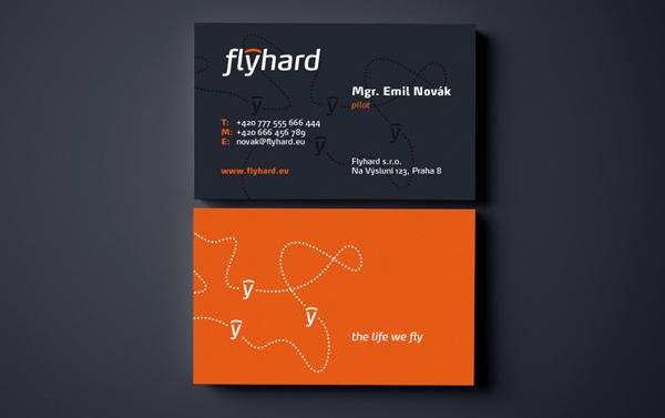 Flyhard Business Card