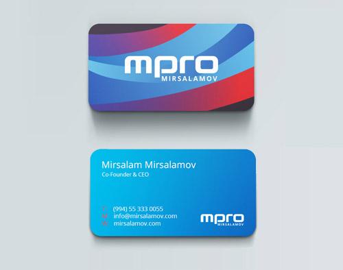 MPRO Mirsalamov Business Card