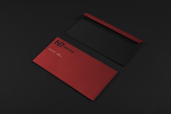 Noble 7 Skateboards Business Card