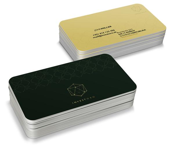 INVESTORO corporate identity Business Card