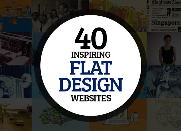 Beautiful Flat Design Websites