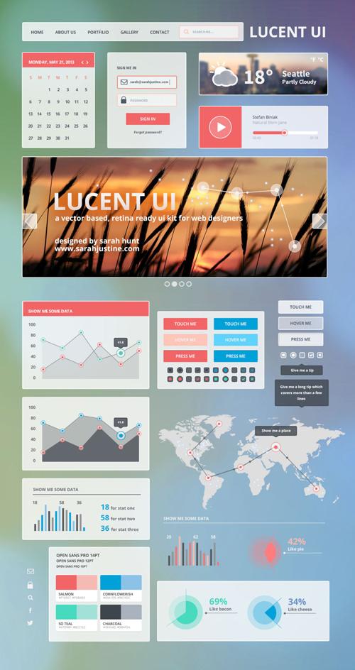 Lucent UI - Free UI Kit