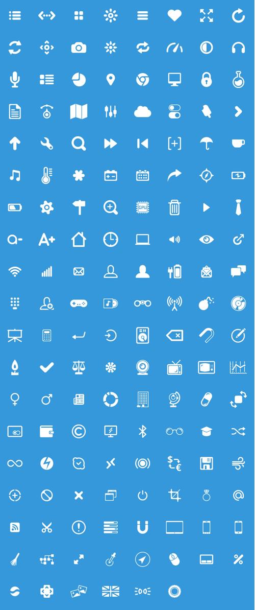 150 Free Glyphs