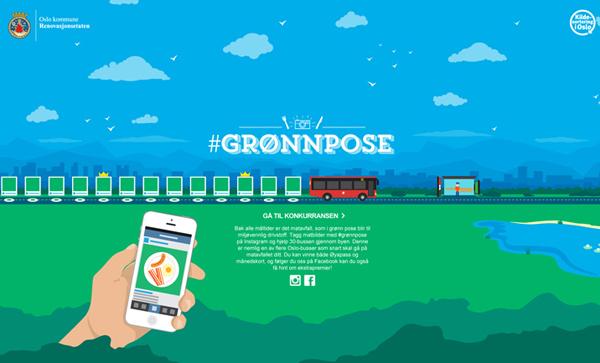 Gronnpose Flat Design Websites