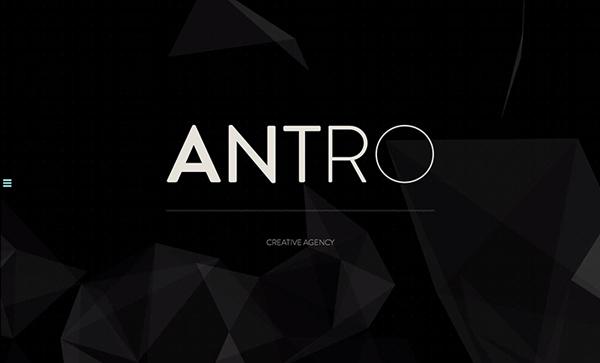 ANTRO Flat Design Websites