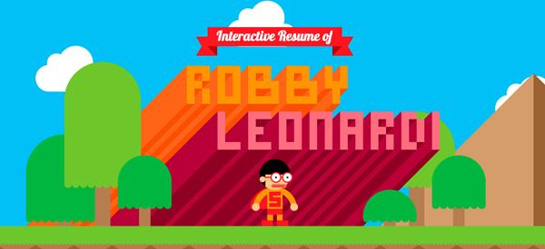 Robby Leonardi Flat Design Websites